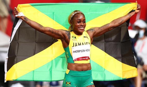 Kadınlar 100 metrede 33 yıllık olimpiyat rekoru kırıldı