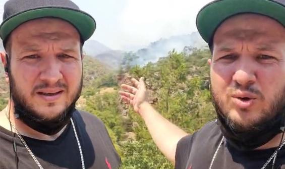 """Acil yardım çağrısında bulundu: """"Burası yanıyor!"""""""