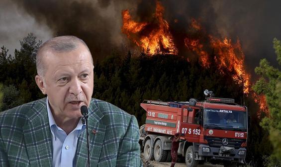 Cumhurbaşkanı Erdoğan afet bölgesine yardımları açıkladı