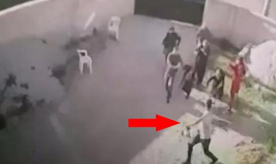 Konya'daki katliamın kamera görüntüleri
