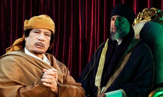 Oğul Kaddafi 10 yıl sonra ortaya çıktı: Gözü başkanlıkta!