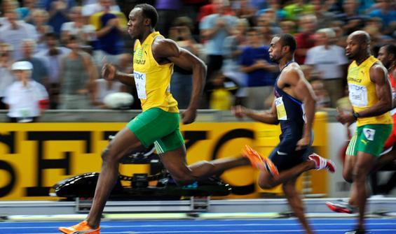 Atletizm Erkekler 100 metre final CANLI İZLE