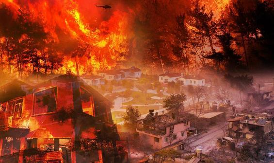 Beşinci gün: 107 yangından 98'i kontrol altına alındı!