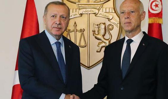 Erdoğan, Tunus Cumhurbaşkanıyla görüştü