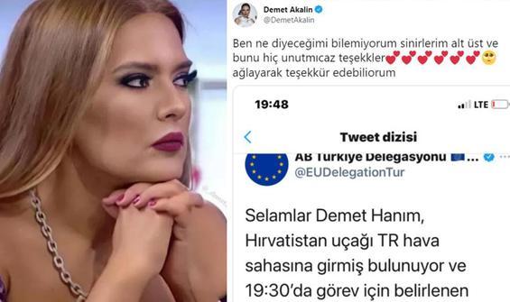 Demet Akalın sordu, Avrupa Türkiye Delegasyonu yanıtladı