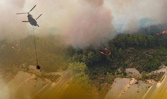 Yangınlarla mücadele eden Antalya için flaş uyarı