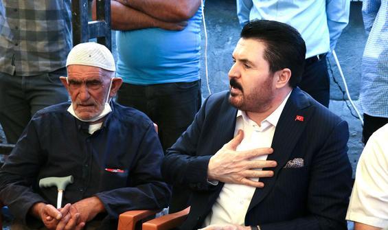Konya'da katledilen 7 kişinin yakınlarına taziye ziyareti
