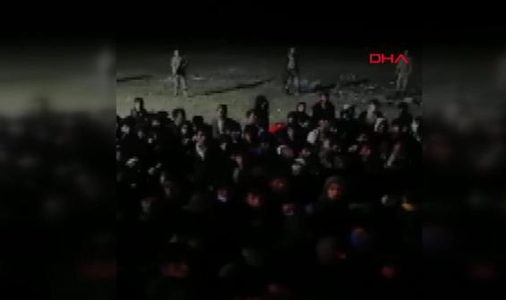 Tek bir araçta 300 kaçak göçmen yakalandı