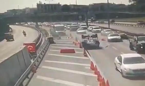 Avrasya Tüneli girişinde feci kaza!