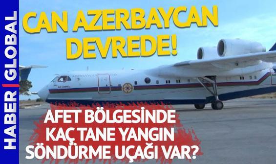 Cumhurbaşkanı Erdoğan, Aliyev ile görüştü, Bakü'den yangın söndürme uçağı geldi!