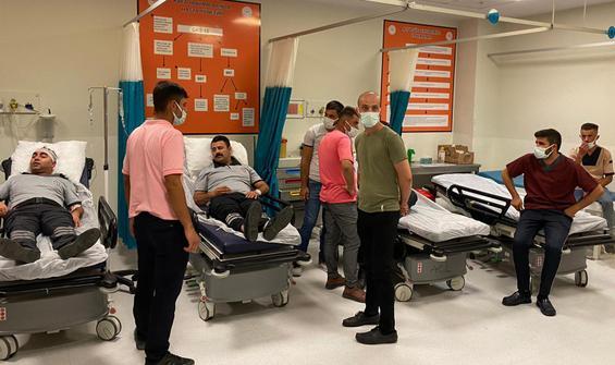 Hastanede maske kavgası: 9 kişi yaralandı