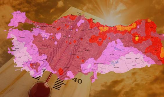 Meteoroloji harita yayınladı: Bu 14 ilde yaşayanlar dikkat