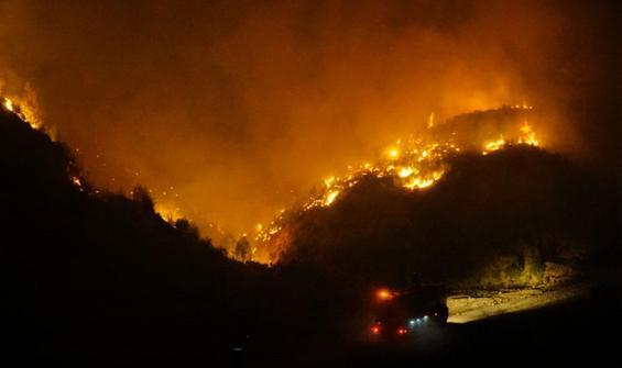 Yangın Menteşe'ye ulaştı! İki mahalle tahliye edilecek