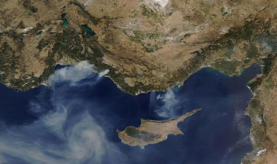 NASA'dan Türkiye'deki yangınlarla ilgili açıklama