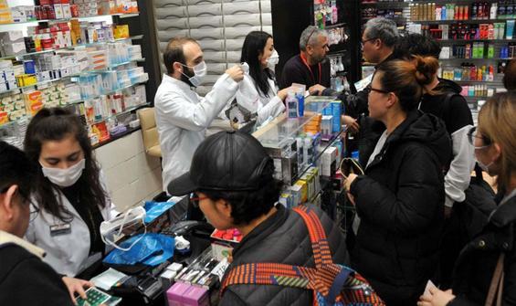 Salgın süreecinde maske satışları 144 kat arttı