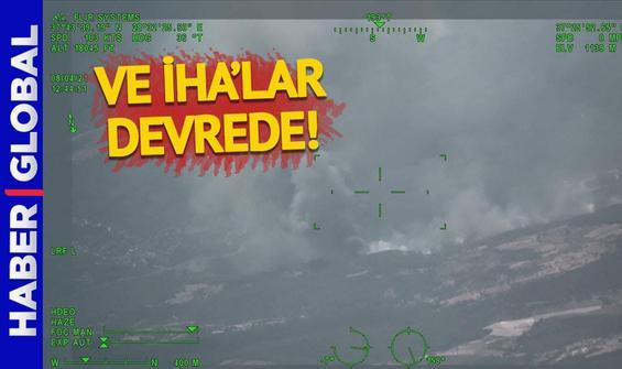 Yangın söndürmede İHA'lar devrede!