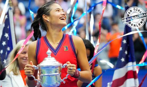Tenisin yeni starı Emma Raducanu! Tarih yazdı...