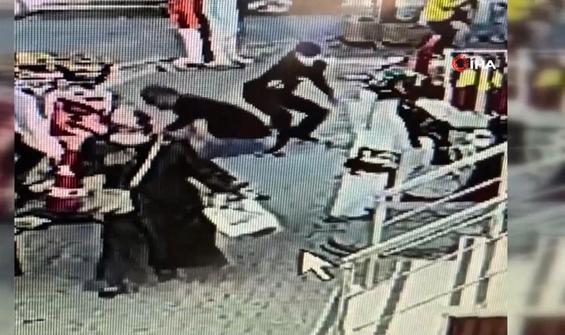 Emlakçıyı takip edip kurşunladılar, yoldan geçen kadın yaralandı