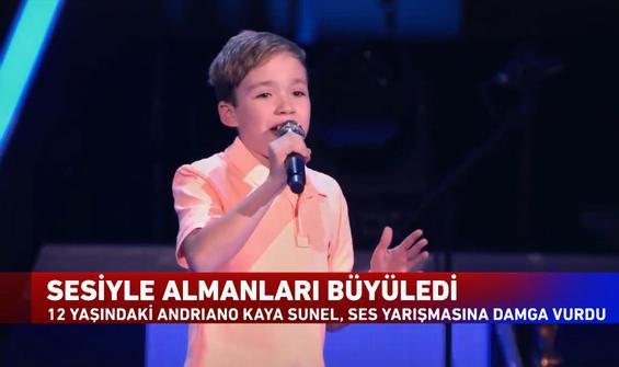 Almanya'nın konuştuğu Türk çocuk sesiyle herkesi büyüledi