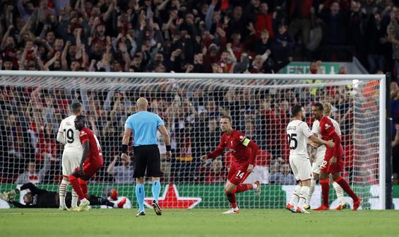 Liverpool, Milan'ı 3-2'yle geçti