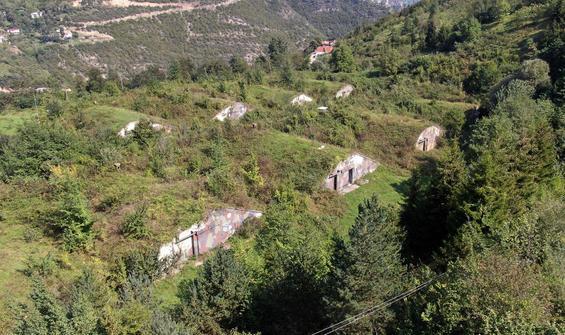 Trabzon'da füzelerin saklandığı NATO üssü...