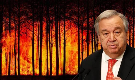 BM'den kritik uyarı: Dünya felaket yolunda
