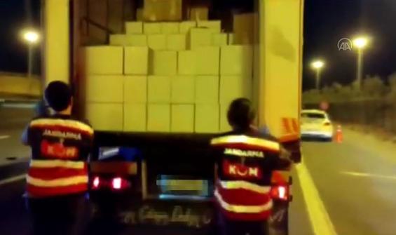 İstanbul'da 4 bin litre etil alkol ele geçirildi