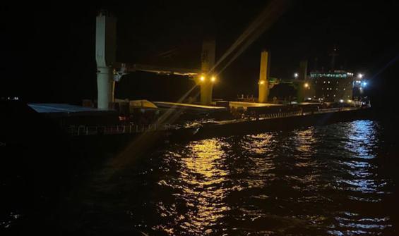 Bozcaada açıklarında gemi kazası!