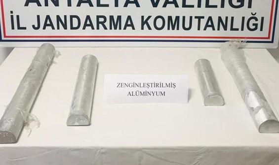 Antalya'da ele geçirildi! Değeri 60 milyon TL