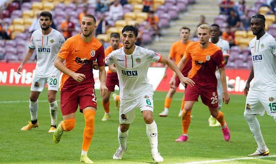 Galatasaray, Alanyaspor'a 1-0 mağlup oldu