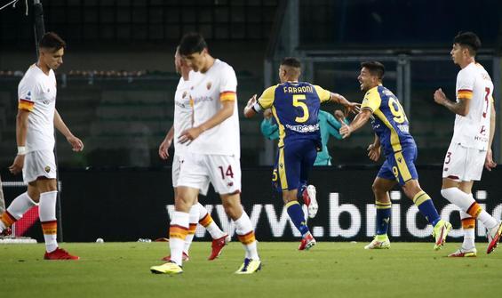 Roma, Hellas Verona deplasmanından çıkamadı