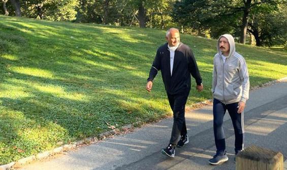 Bakanlardan Central Park'ta yürüyüş