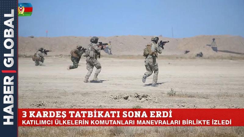 Yaşasın Azerbaycan, Pakistan, Türkiye Kardeşliği! Nefes Kesen Manevraları Komutanlar Böyle İzledi!
