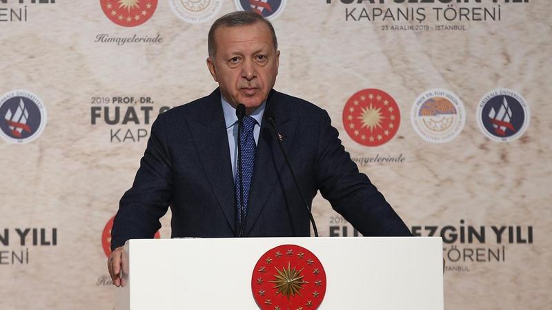 Erdoğan'dan Kanal İstanbul eleştirilerine sert yanıt