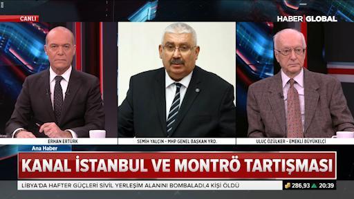 Bahçeli'nin Kanal İstanbul ve Montrö ifadelerine ilişkin Semih Yalçın'dan açıklama