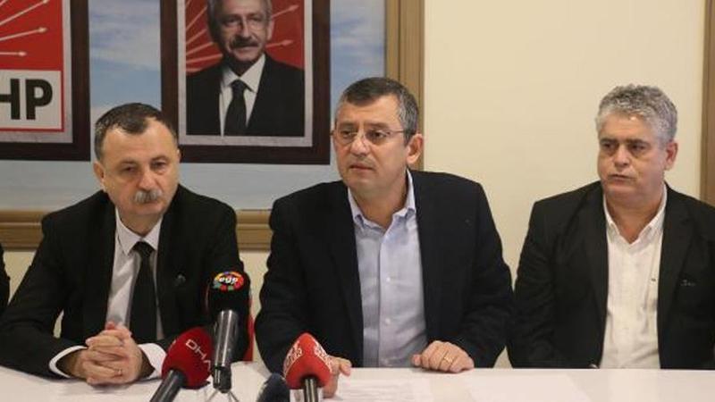 CHP'li Özel'den Kanal İstanbul açıklaması