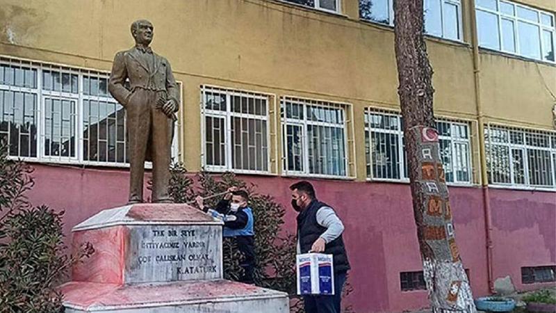 Tekirdağ'da Atatürk heykeli saldırısında flaş gelişme