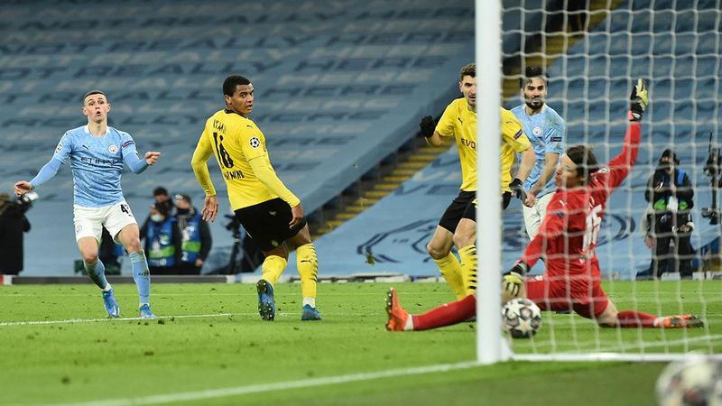 Manchester City, Borussia Dortmund'u son dakikada yıktı