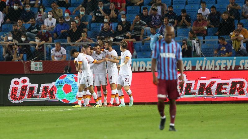 Trabzonspor avantajı Roma'ya kaptırdı