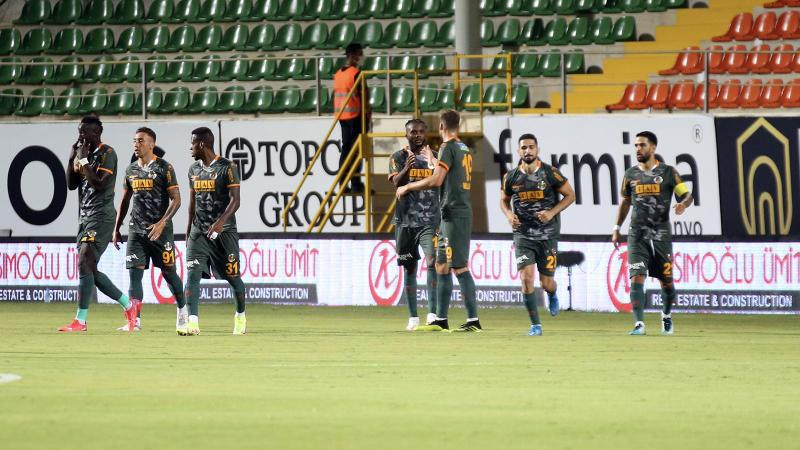 Alanyaspor, Giresunspor'u tek golle geçti