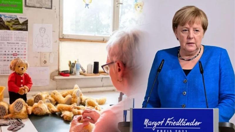 Merkel'in oyuncakları kapış kapış gidiyor!