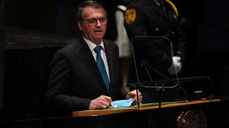 66 yıldır ilk konuşma Brezilya'da! Bolsonaro'dan Afganlara vize açıklaması