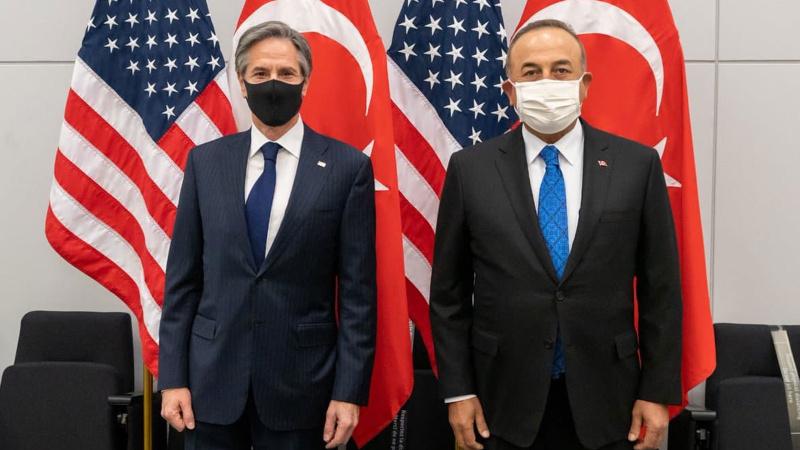 Çavuşoğlu, ABD'li mevkidaşıyla Afganistan'ı görüştü