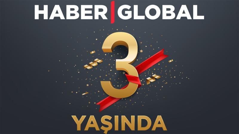 Haber Global 3 yaşında