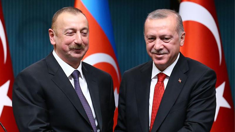 Erdoğan, Aliyev ile görüştü!