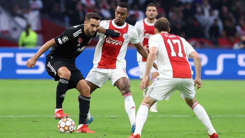 Beşiktaş, Hollanda'dan puansız döndü