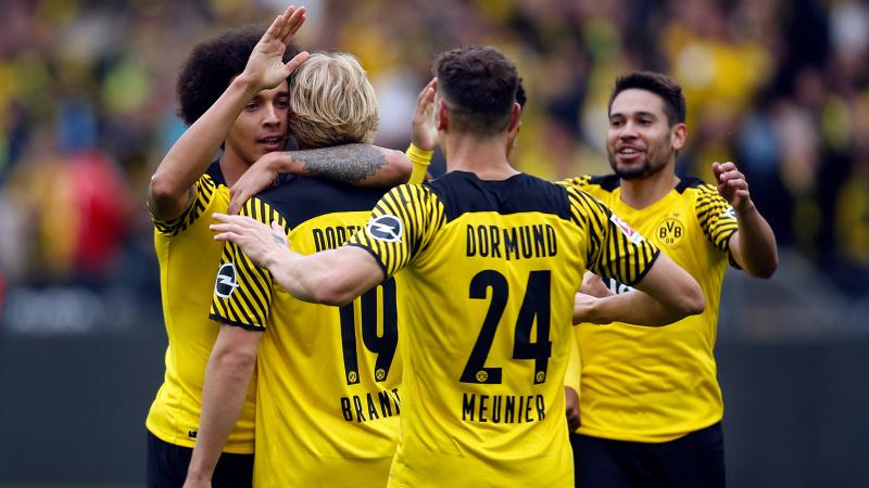 Dortmund, Augsburg'u 2 golle geçti