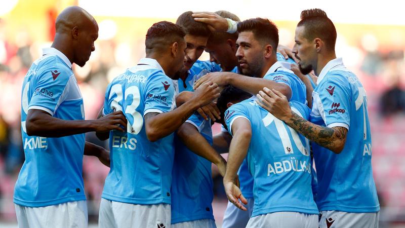 Trabzonspor, Bakasetas'la güldü