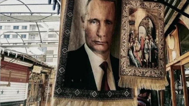 Putin desenli kilim olay oldu!