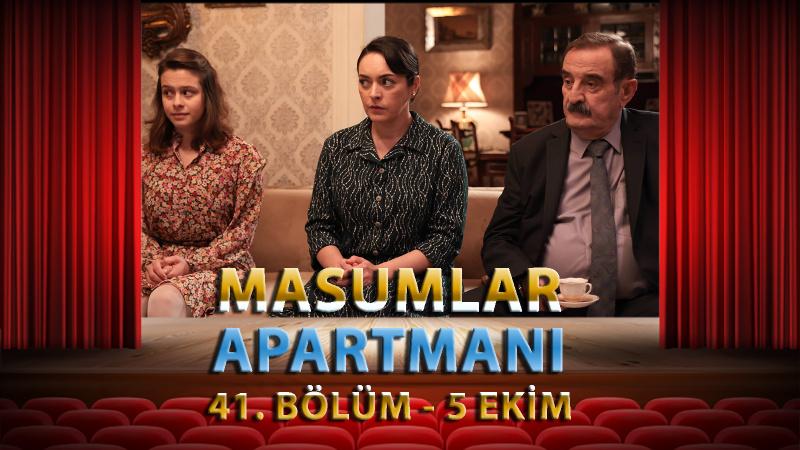 Masumlar Apartmanı 41. Bölüm Full İzle
